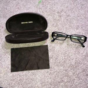 Black Michael Kors prescription glasses